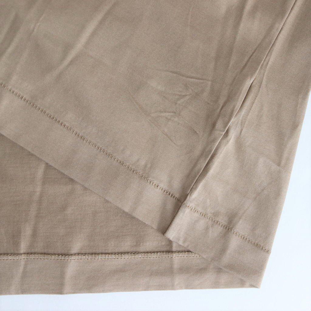 SUVIN 60/2 OVERSIZED T-SHIRT #BEIGE [KKAGBM0015]