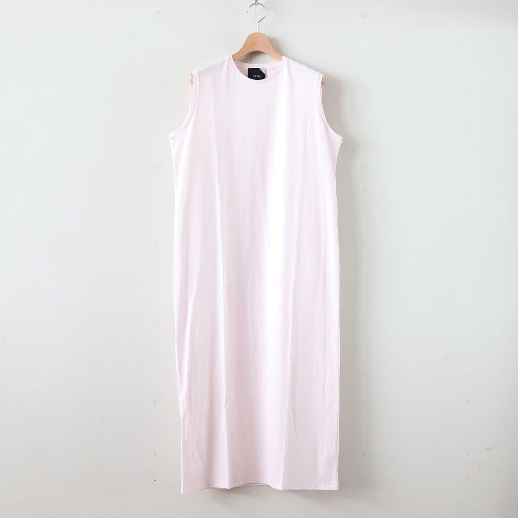 SUVIN 60/2 TANK-TOP DRESS #PINK [OPAGBM0013]