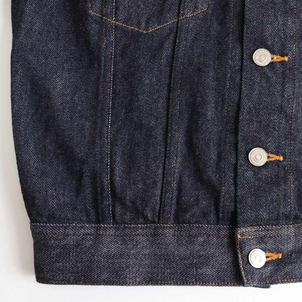 DENIM JACKET #INDIGO [18-12W]