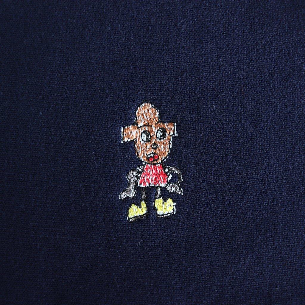 CAMBER CREW SWEAT 刺繍 #NAVY