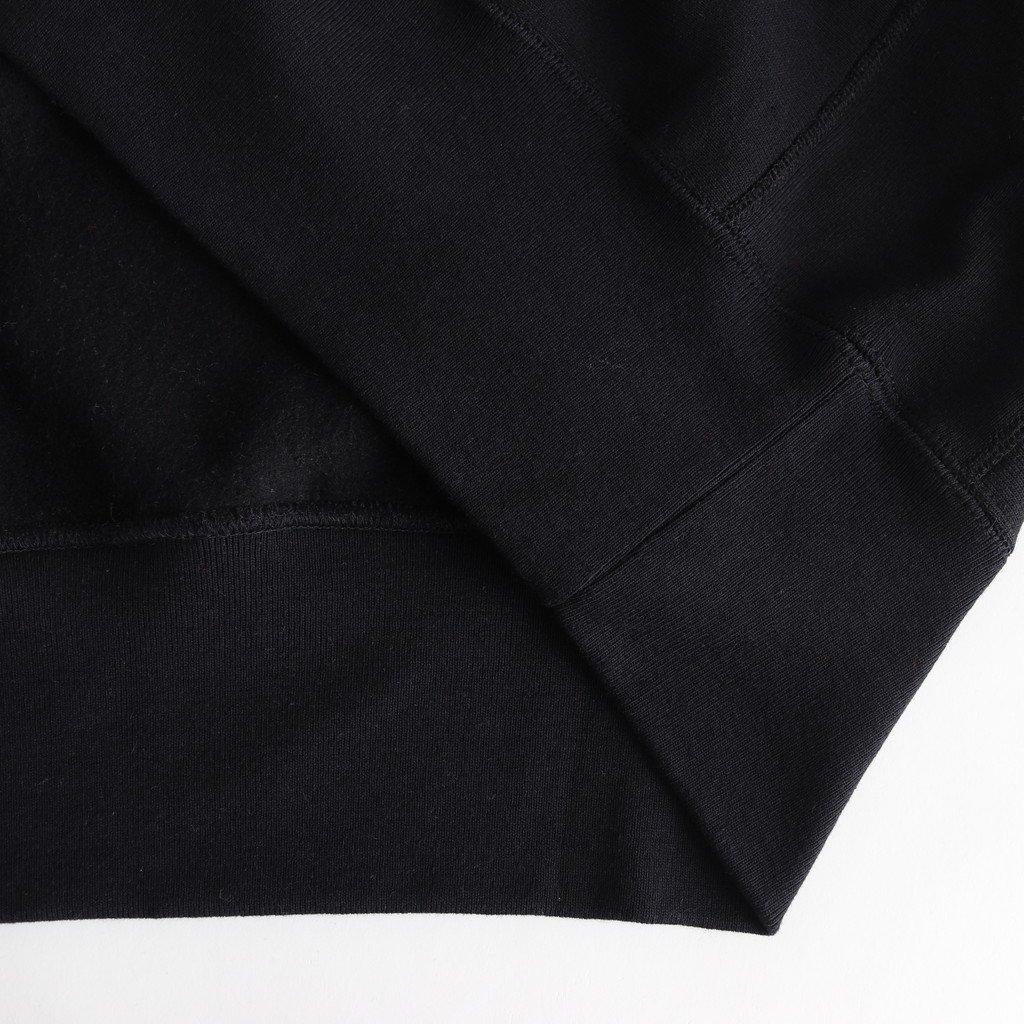 CAMBER CREW SWEAT 刺繍 #BLACK