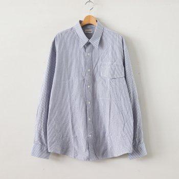 IRREGULAR POCKET SHIRT #BLUE [GR-SH] _ gourmet jeans | グルメジーンズ