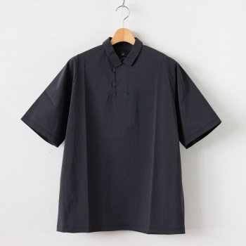CARTRIDGE POLO SHIRT PACKABLE HORIZON #BLACK [tt-POLO-PH] _ TEATORA | テアトラ