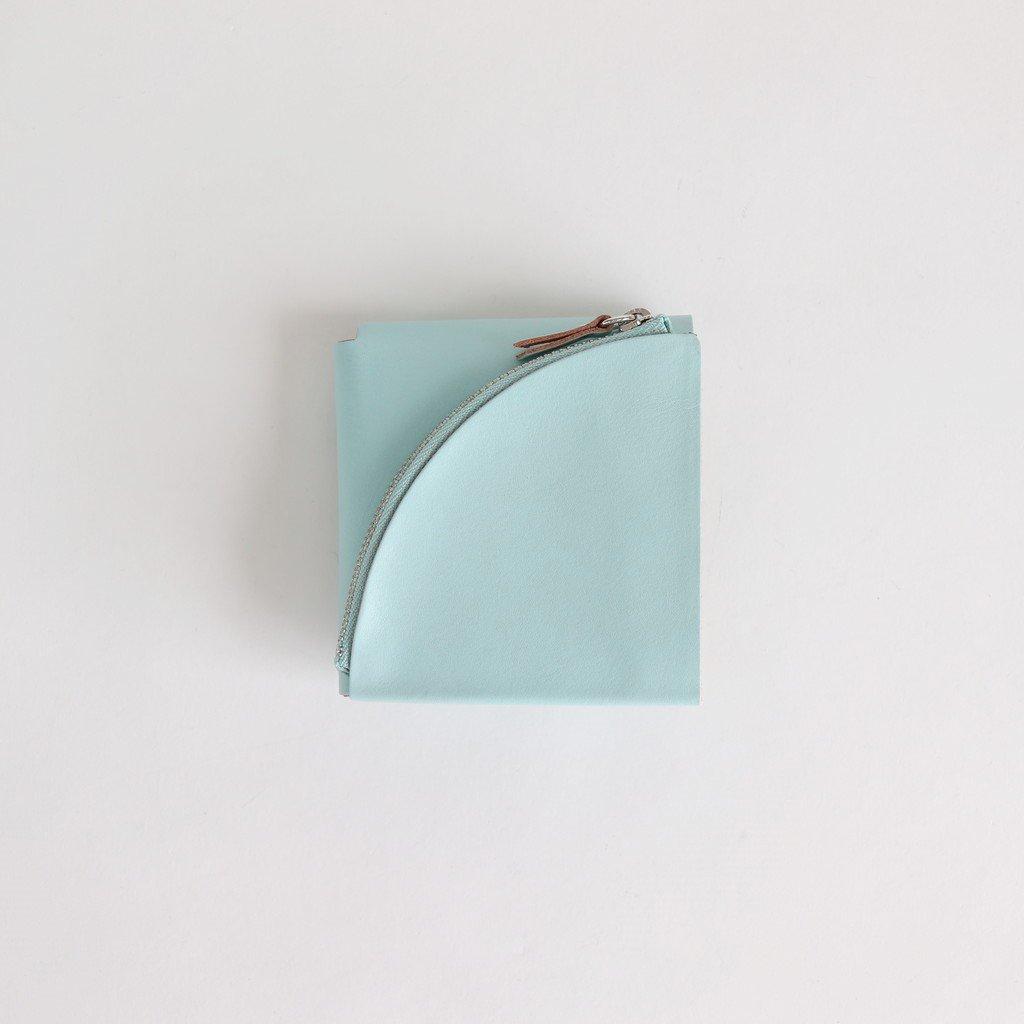 FOLD SHORT WALLET #PALE BLUE [ACC-F06]