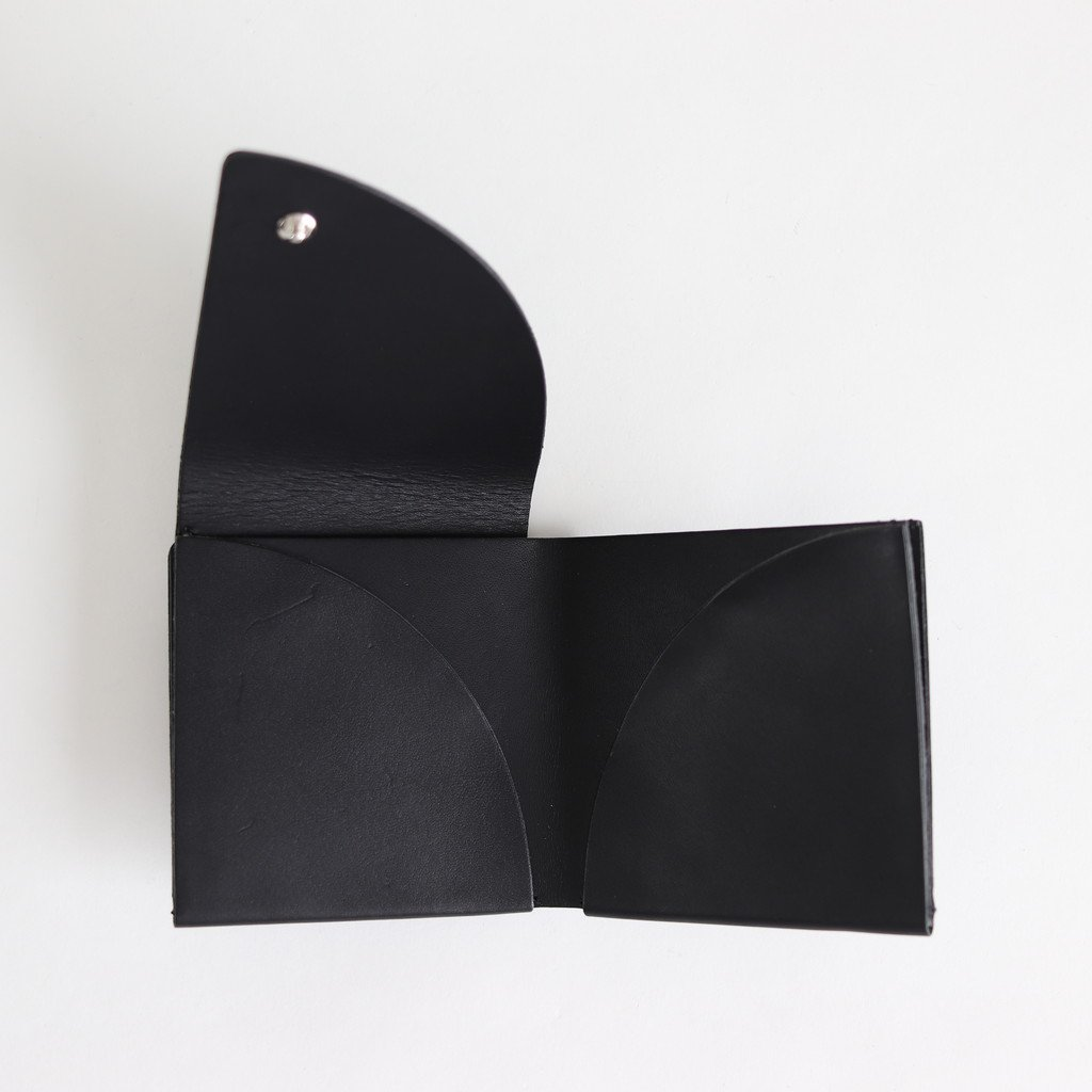 FOLD SHORT WALLET #BLACK [ACC-F06]