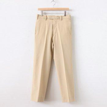 BACK SLIT STRAIGHT PANTS #L.BEIGE [YK20SS0103P] _ YOKE | ヨーク