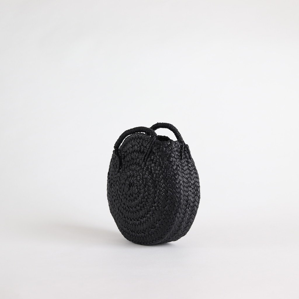 CIRCLE BASKET S #BLACK [KG07]