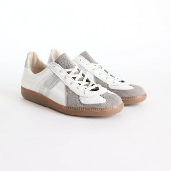 REPRODUCTION OF FOUND for Graphpaper GERMAN MILITARY TRAINER #WHT×SILVER [GU201-90173] _ Graphpaper | グラフペーパー