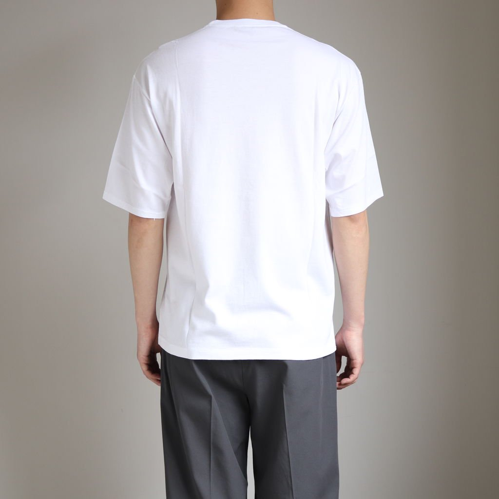 <img class='new_mark_img1' src='https://img.shop-pro.jp/img/new/icons1.gif' style='border:none;display:inline;margin:0px;padding:0px;width:auto;' />SEAMLESS CREW NECK HALF SLEEVE TEE #WHITE [A20ST02ST]