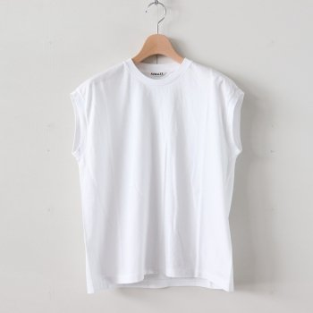 SEAMLESS CREW NECK SLEEVELESS #WHITE [A20ST07ST] _ AURALEE | オーラリー