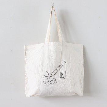 PRINT BAG - PENCIL #NATURAL [30901] _ YAECA | ヤエカ