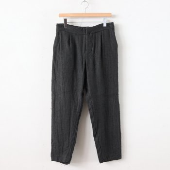 TUCK PANTS #LOGWOOD [40615] _ YAECA | ヤエカ