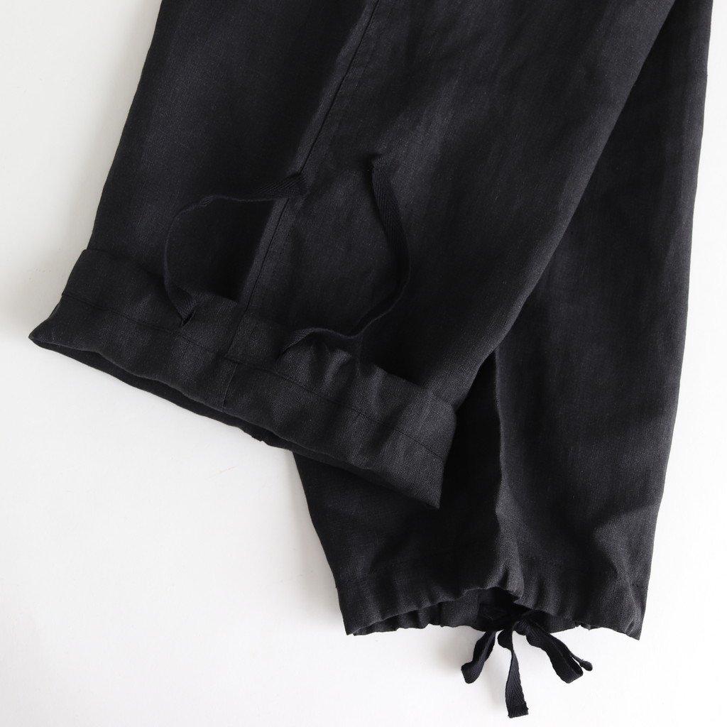 ミリタリーパンツ #BLACK [TBKS-611]