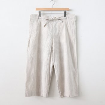 RIBBON PANTS #STRIPE [40616] _ YAECA | ヤエカ