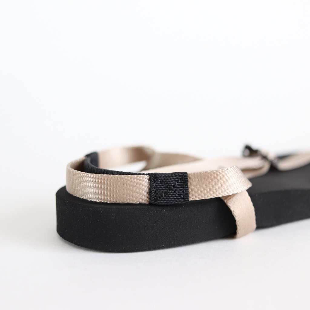 BAREFOOT SANDALS (THICK SOLE) #BEIGE [BSS1812006]