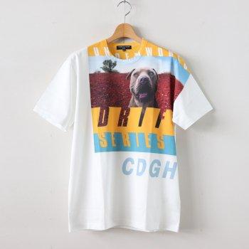 綿天竺 製品プリント S/S Tシャツ #WHITE×PRINT [HE-T034-051] _ COMME des GARCONS HOMME | コム デ ギャルソン オム
