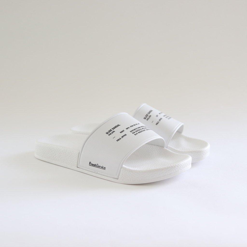 SLIDE SANDAL #WHITE [FSW-20-AC_01]