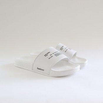 SLIDE SANDAL #WHITE [FSW-20-AC_01] _ FreshService | フレッシュサービス