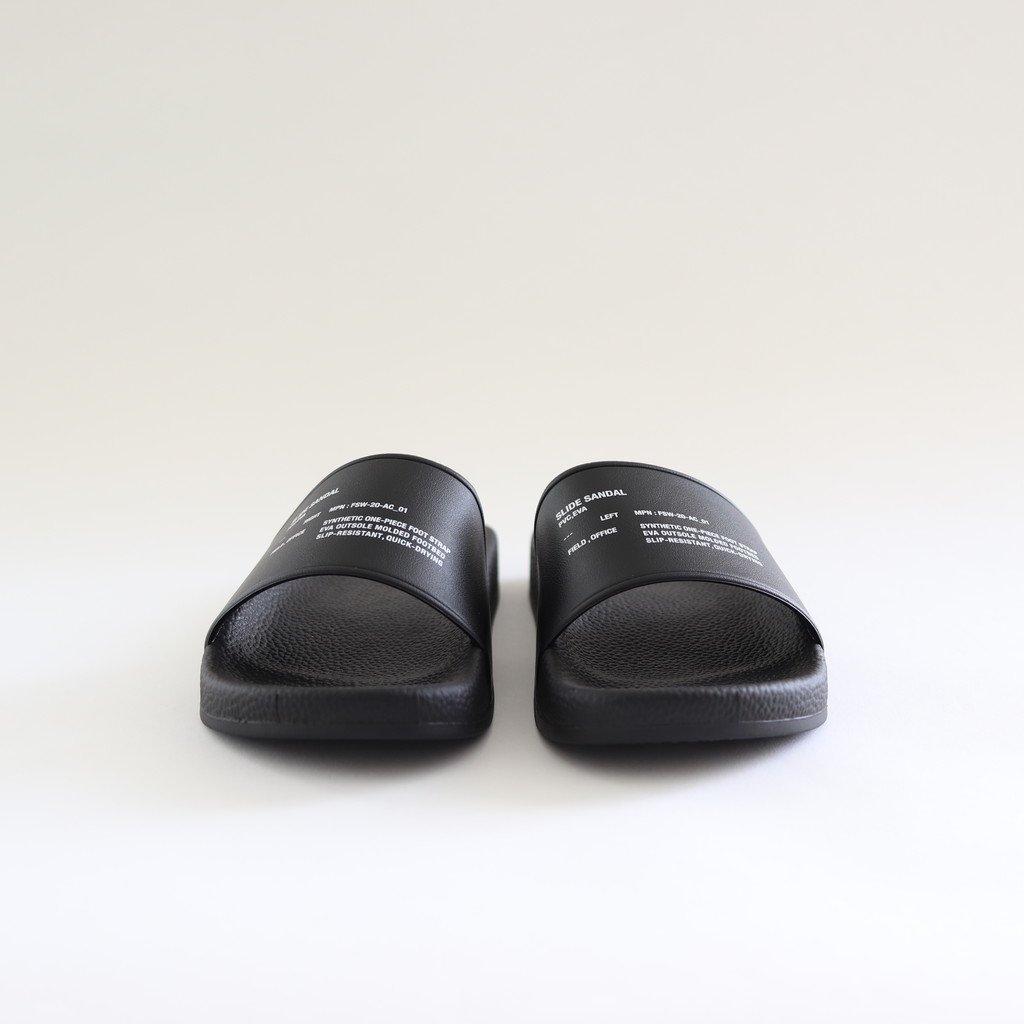 SLIDE SANDAL #BLACK [FSW-20-AC_01]
