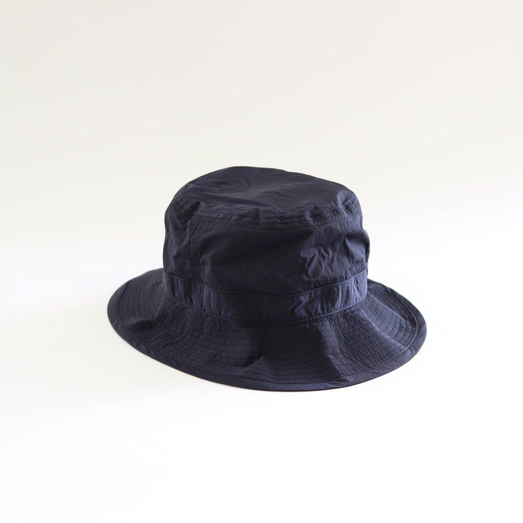 LIGHT NYLON BUCKET HAT #NAVY [NO.17630]