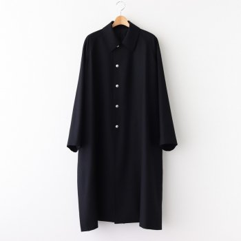BAL COLLAR PONCHO WOOL100% - SERGE FLANNEL #BLACK [20AW-CKCT-014] _ The CLASIK | ザ・クラシック