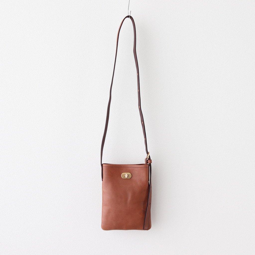 TWIST BUCKLE BAG XS #DARK BROWN [li-rb-txs]