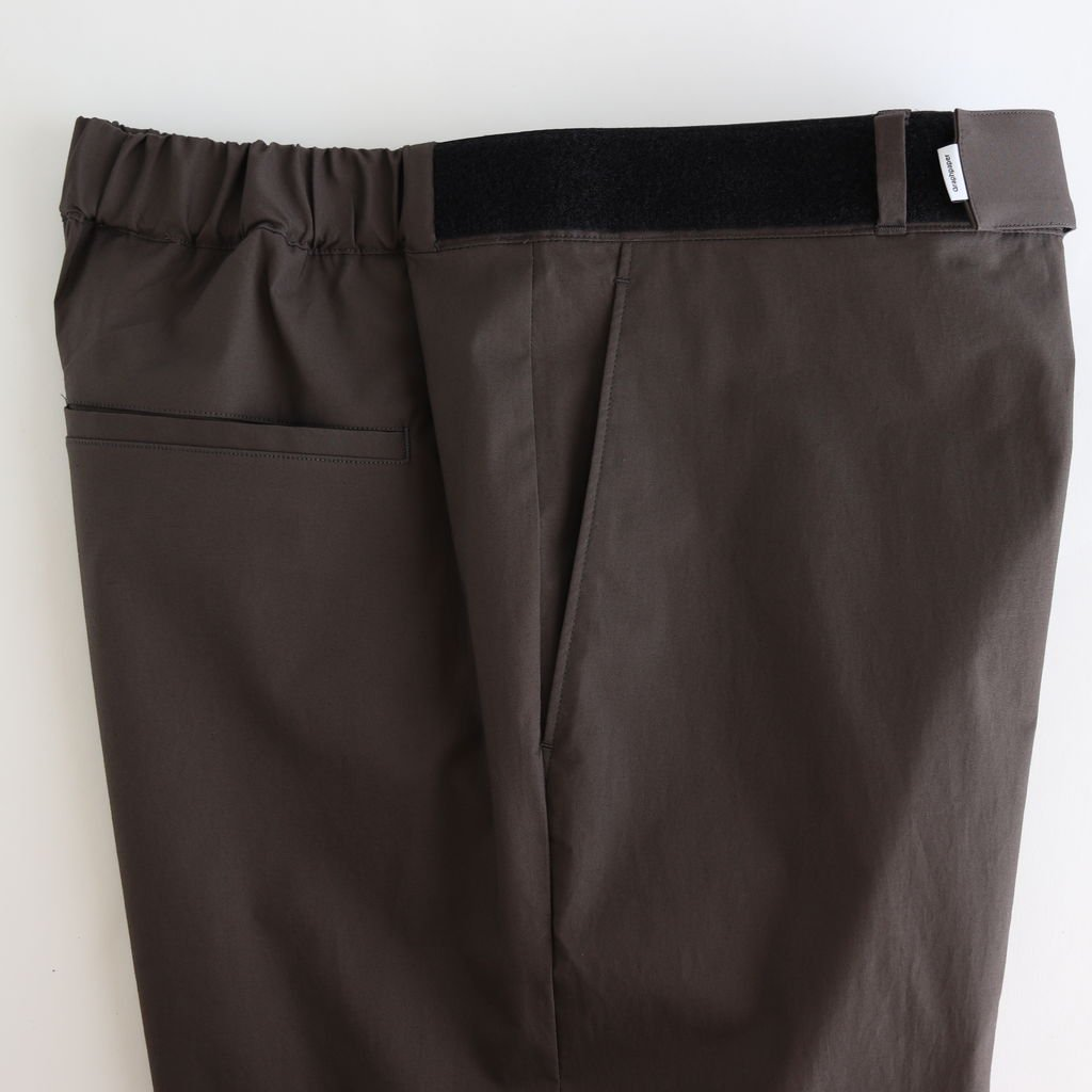 <img class='new_mark_img1' src='https://img.shop-pro.jp/img/new/icons1.gif' style='border:none;display:inline;margin:0px;padding:0px;width:auto;' />STRETCH TYPEWRITER CHEF PANTS #GRAY [GM202-40619B]