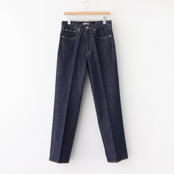HARD TWIST DENIM 5P PANTS #INDIGO [A20AP01DM] _ AURALEE | オーラリー