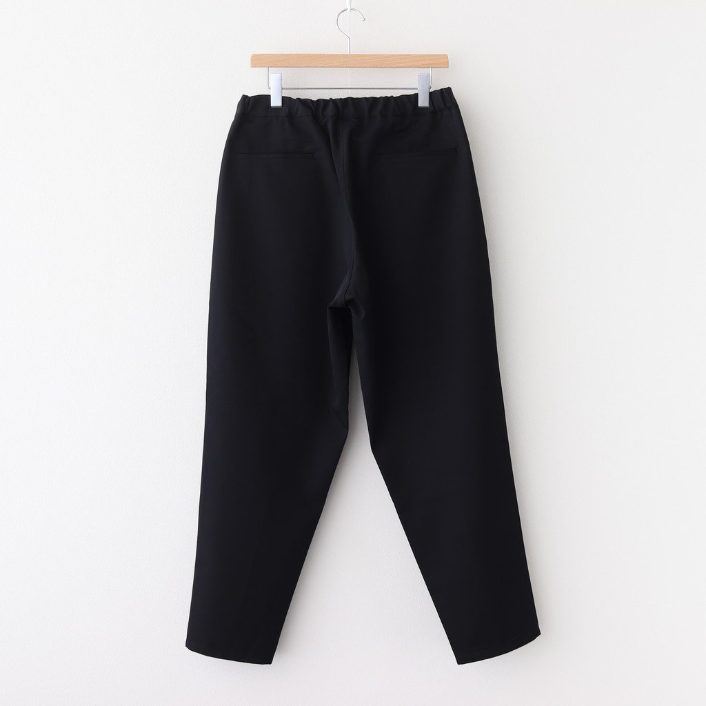 <img class='new_mark_img1' src='https://img.shop-pro.jp/img/new/icons1.gif' style='border:none;display:inline;margin:0px;padding:0px;width:auto;' />SELVAGE WOOL CHEF PANTS #BLACK [GM203-40106B]