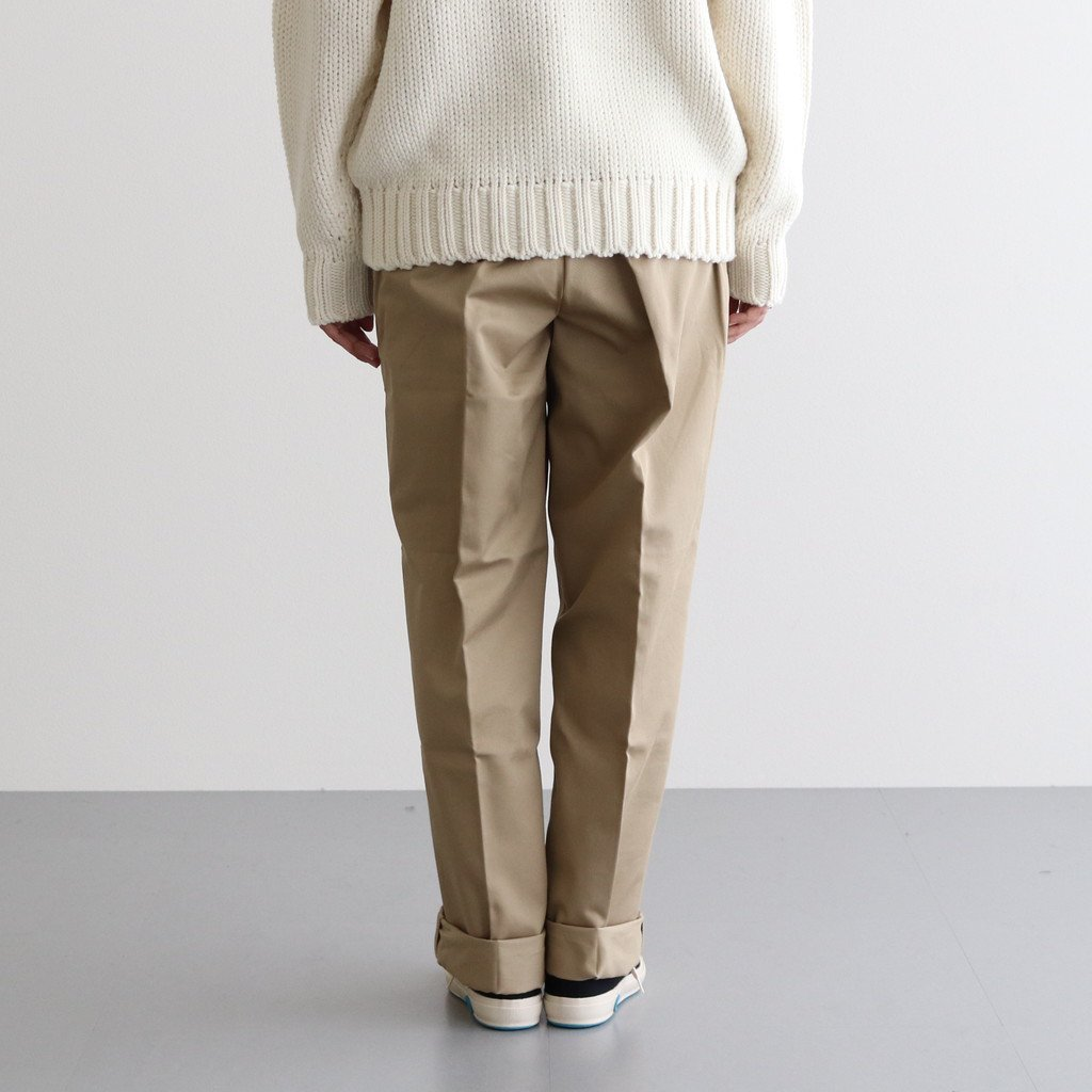 <img class='new_mark_img1' src='https://img.shop-pro.jp/img/new/icons1.gif' style='border:none;display:inline;margin:0px;padding:0px;width:auto;' />WIDE CHINO TROUSERS #BEIGE [H2002-PT004]