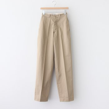 WIDE CHINO TROUSERS #BEIGE [H2002-PT004] _ LENO   リノ