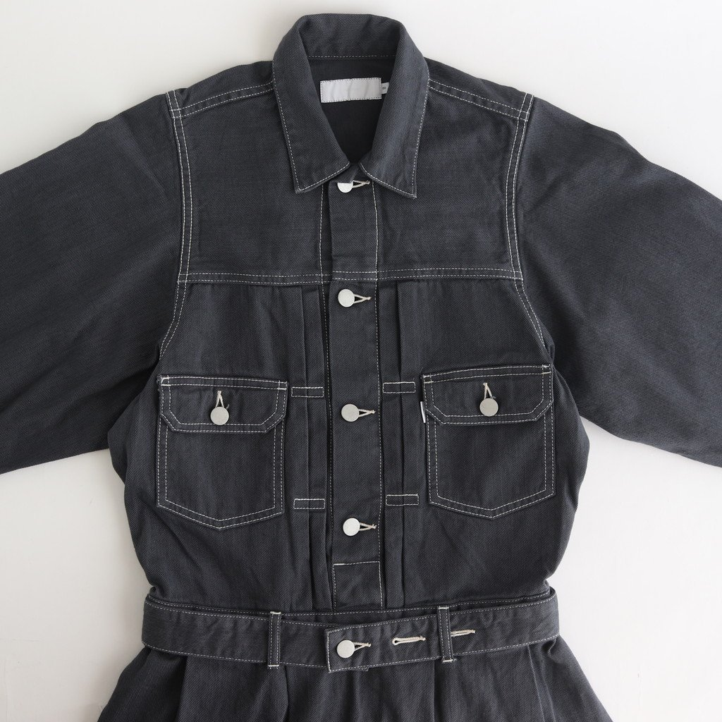 <img class='new_mark_img1' src='https://img.shop-pro.jp/img/new/icons1.gif' style='border:none;display:inline;margin:0px;padding:0px;width:auto;' />BELTED DENIM DRESS #GRAY [GL203-60159B]