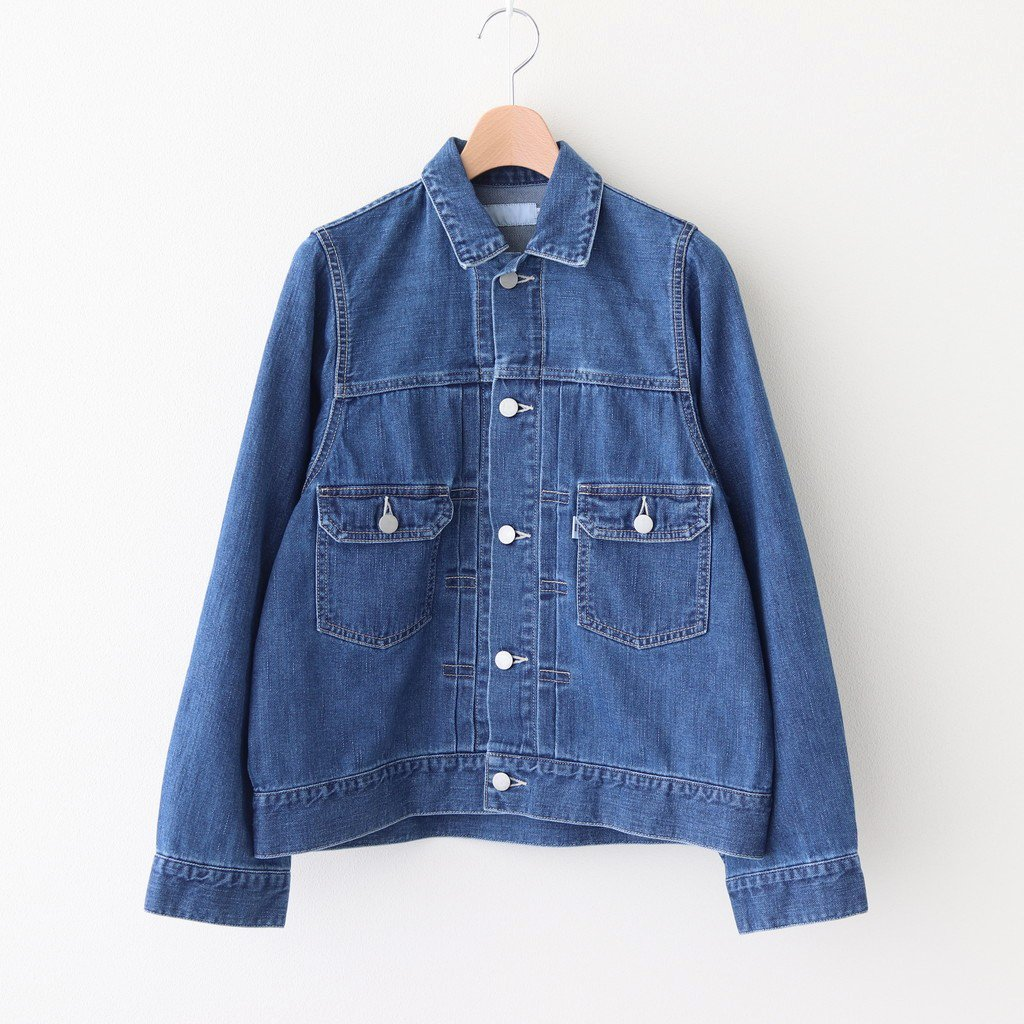 <img class='new_mark_img1' src='https://img.shop-pro.jp/img/new/icons1.gif' style='border:none;display:inline;margin:0px;padding:0px;width:auto;' />DENIM JACKET #INDIGO [GL203-20131B]