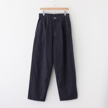 COLORFAST DENIM TWO TUCK PANTS #INDIGO [GM203-40093B] _ Graphpaper | グラフペーパー