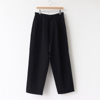 HARD TWILL TWO TUCK PANTS #BLACK [GM203-40001B] _ Graphpaper | グラフペーパー