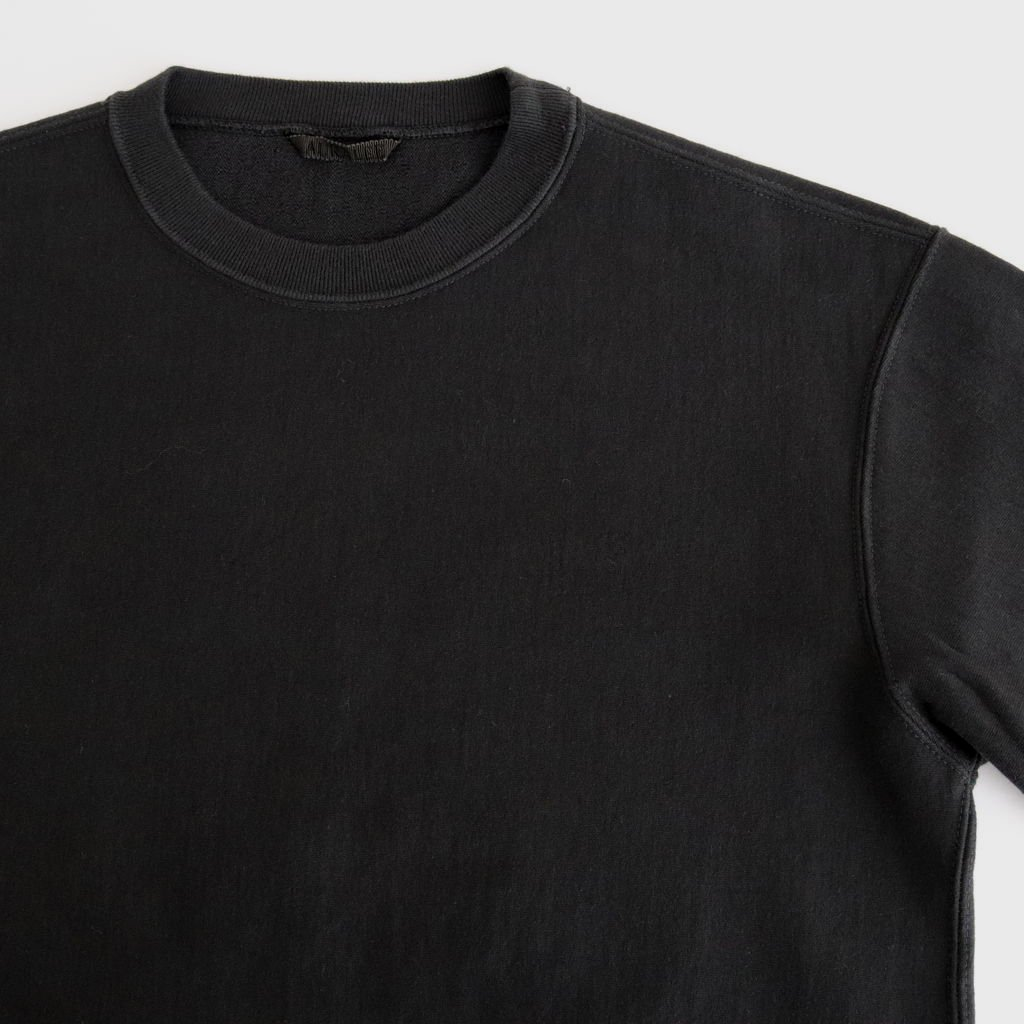 <img class='new_mark_img1' src='https://img.shop-pro.jp/img/new/icons1.gif' style='border:none;display:inline;margin:0px;padding:0px;width:auto;' />SUPER MILLED SWEAT CUT-OFF P/O #BLACK [A20AP05SM]