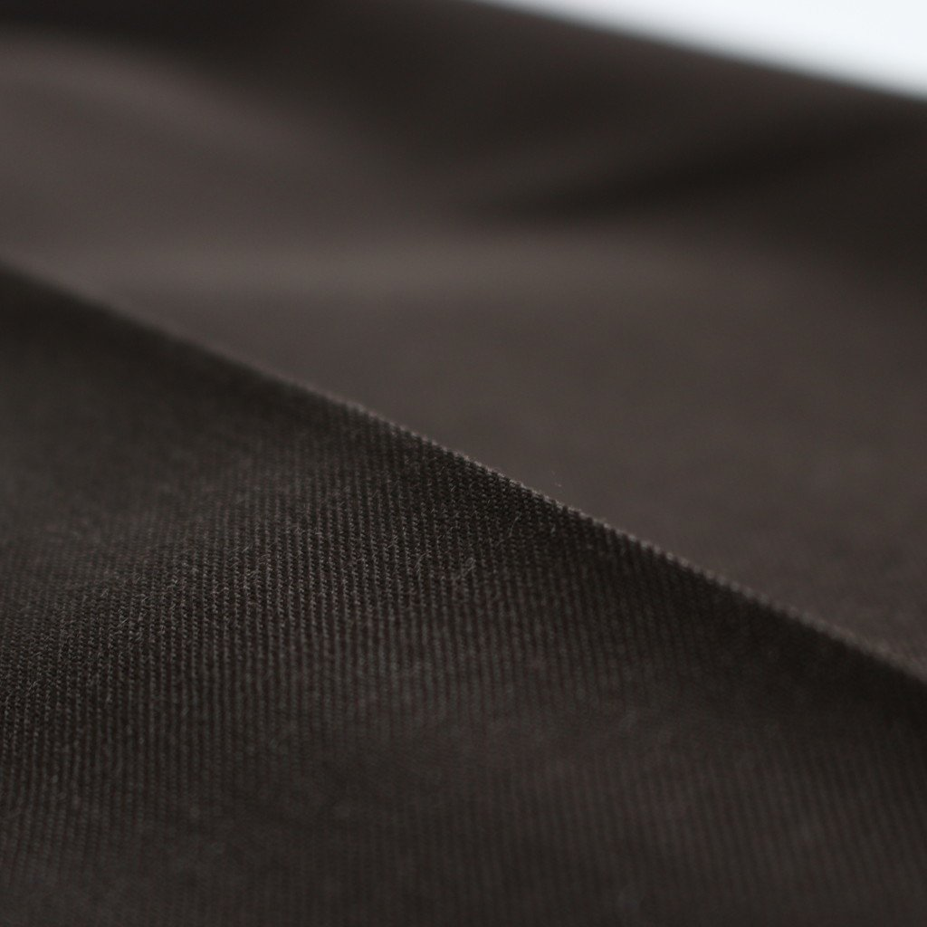 WIDE TAPERED TROUSERS #C.BROWN [ST.178-1]