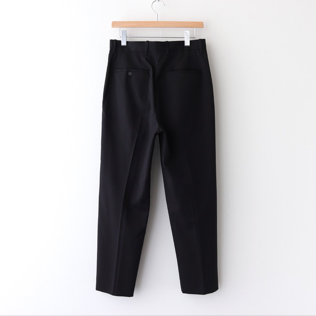 <img class='new_mark_img1' src='https://img.shop-pro.jp/img/new/icons1.gif' style='border:none;display:inline;margin:0px;padding:0px;width:auto;' />WIDE TAPERED TROUSERS #BLACK [ST.178-1]