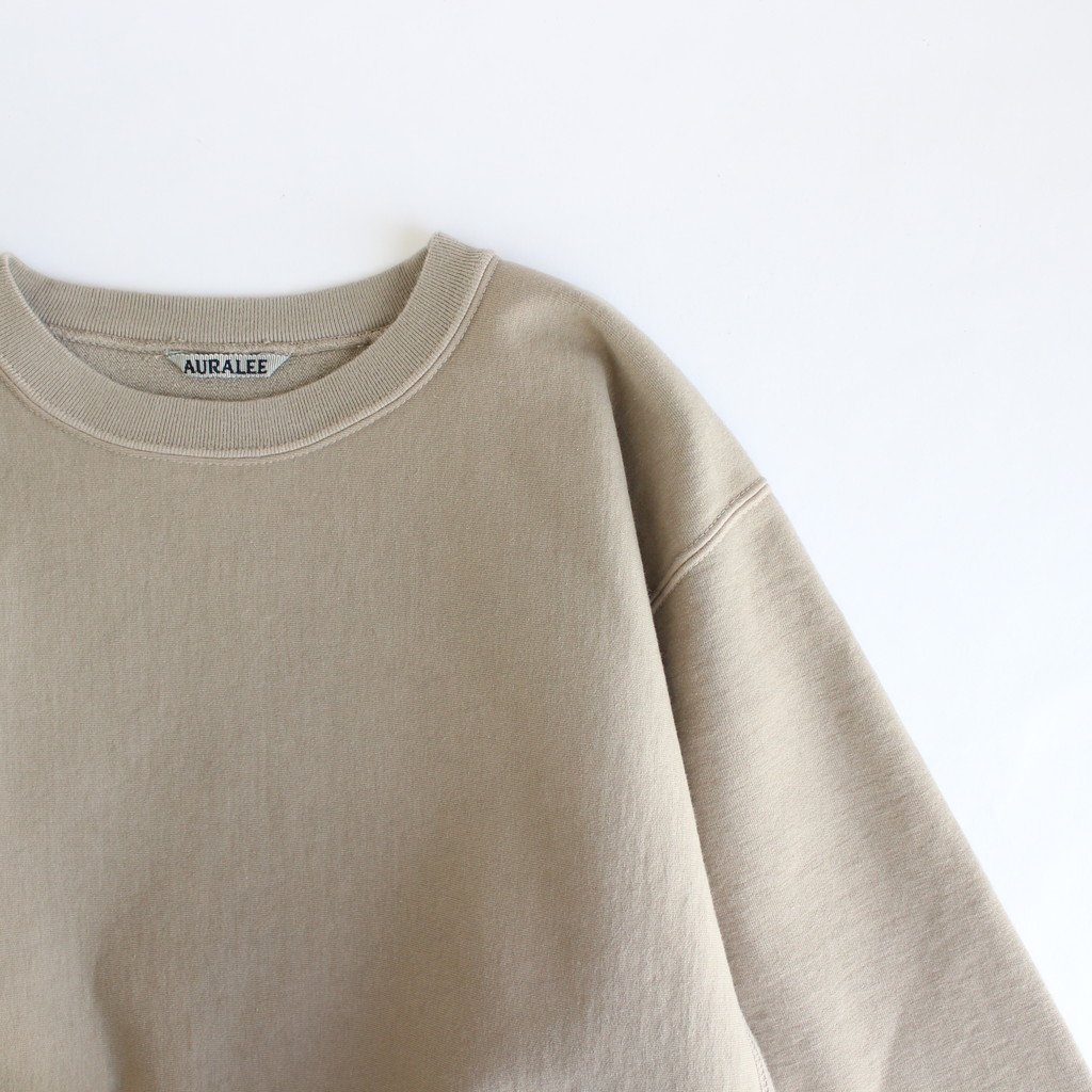 <img class='new_mark_img1' src='https://img.shop-pro.jp/img/new/icons1.gif' style='border:none;display:inline;margin:0px;padding:0px;width:auto;' />SUPER MILLED SWEAT P/O #KHAKI GRAY [A20AP02SM]