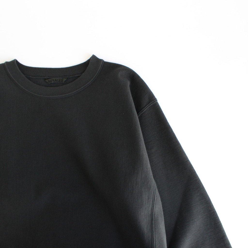 SUPER MILLED SWEAT P/O #BLACK [A20AP02SM]