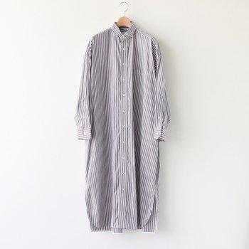 スクエアビッグロングシャツ #BROWN LONDON ST [TBKA-156] _ TICCA | ティッカ