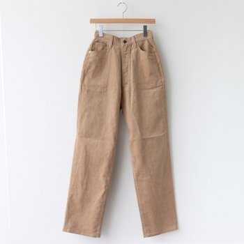 KAY CORDUROY PANTS #BEIGE [L2002-PT002] _ LENO | リノ