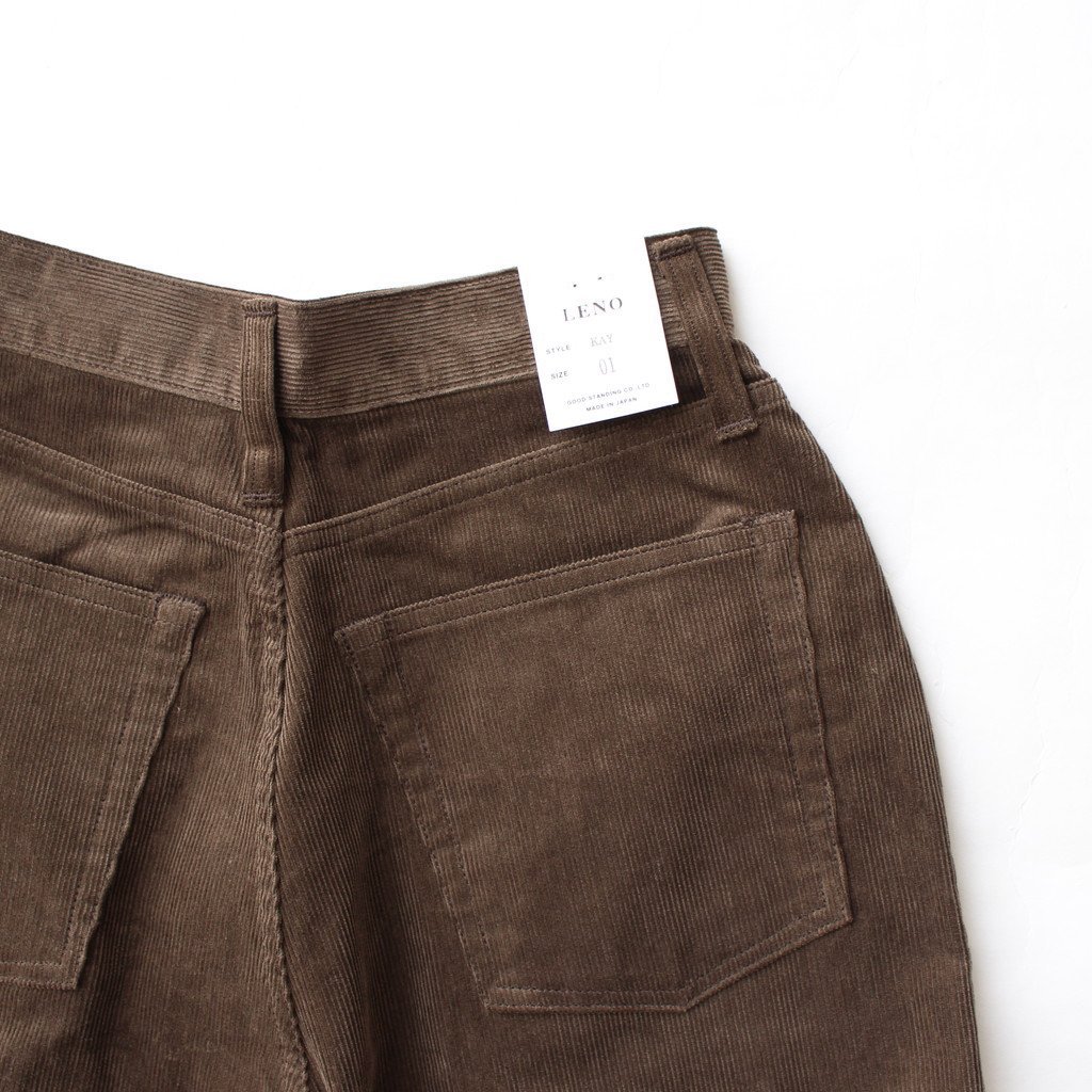 <img class='new_mark_img1' src='https://img.shop-pro.jp/img/new/icons1.gif' style='border:none;display:inline;margin:0px;padding:0px;width:auto;' />KAY CORDUROY PANTS #BROWN [L2002-PT002]