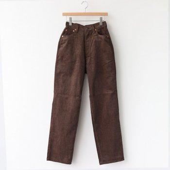 KAY CORDUROY PANTS #BROWN [L2002-PT002] _ LENO   リノ