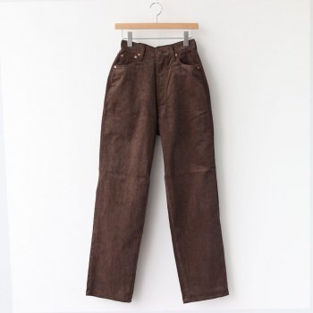 KAY CORDUROY PANTS #BROWN [L2002-PT002] _ LENO | リノ