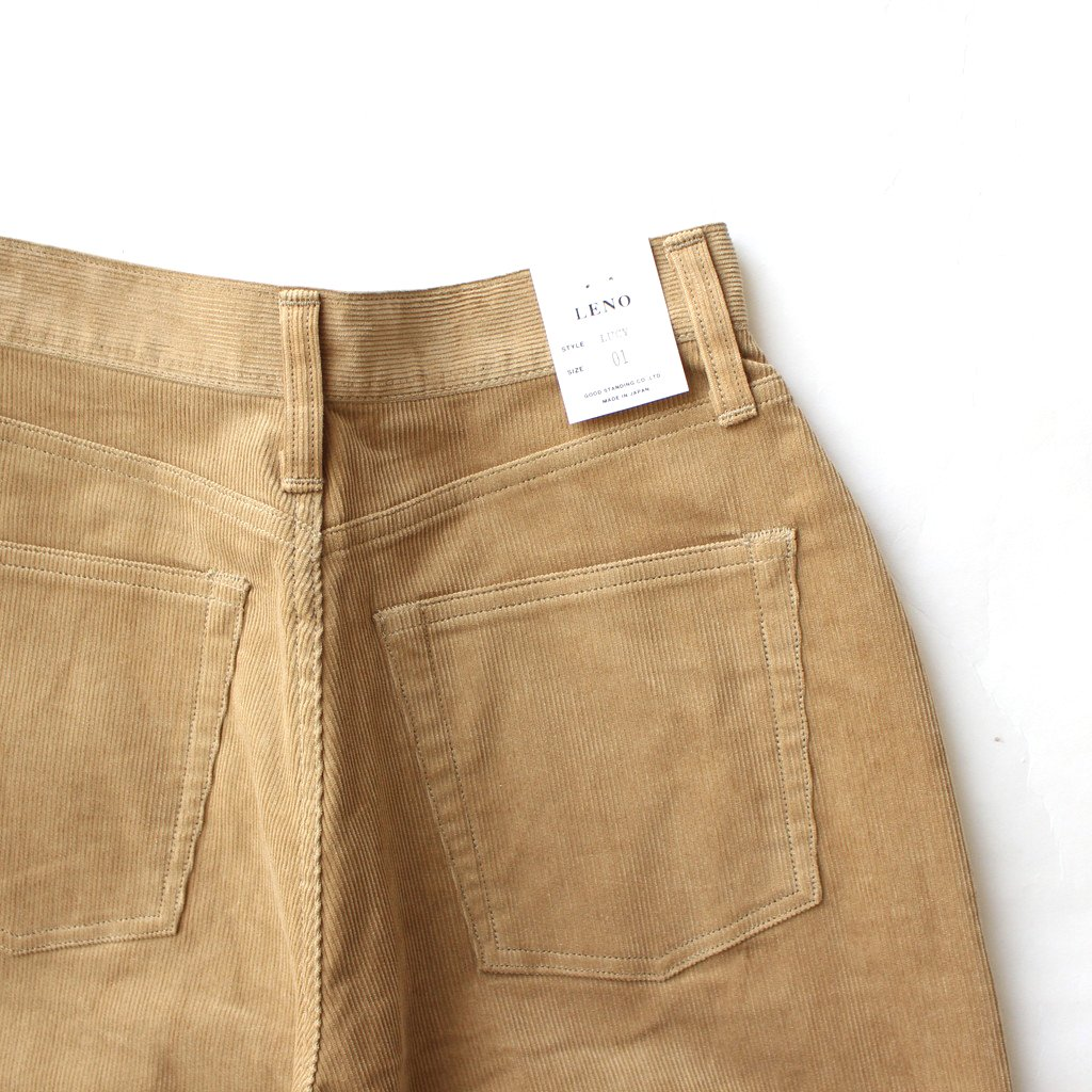 <img class='new_mark_img1' src='https://img.shop-pro.jp/img/new/icons1.gif' style='border:none;display:inline;margin:0px;padding:0px;width:auto;' />LUCY CORDUROY PANTS #BEIGE [L2002-PT003]