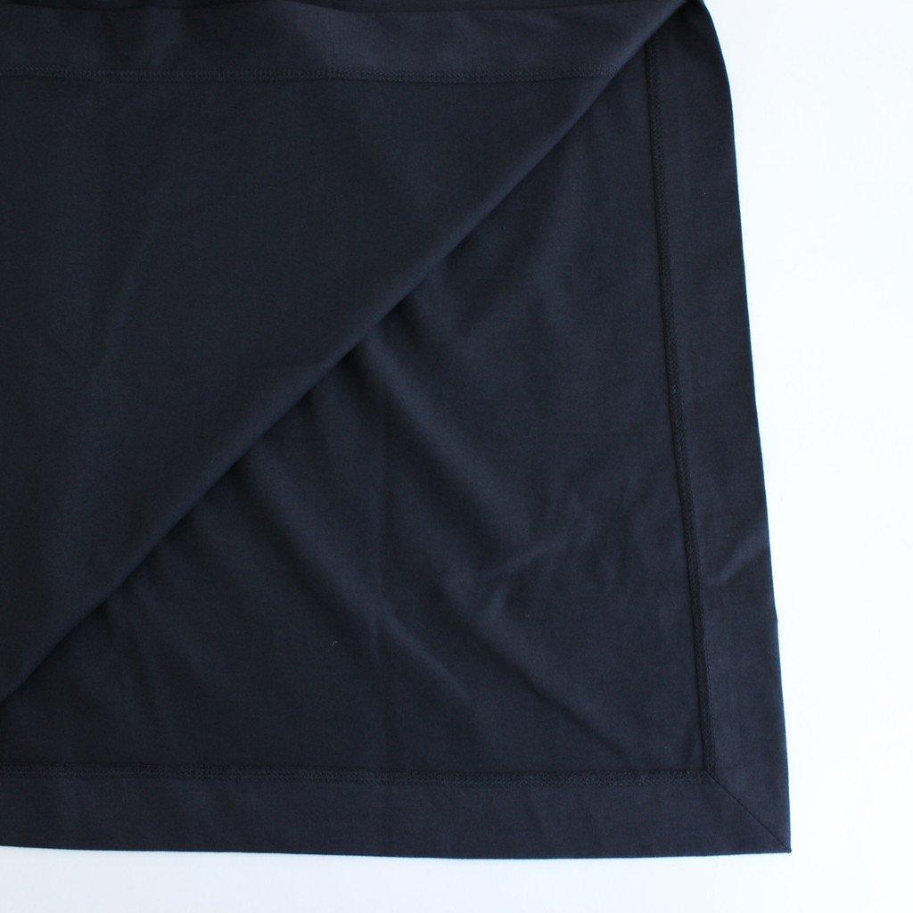 SUVIN 60/2 LONGSLEEVE DRESS #NAVY [OPAGBW0802]
