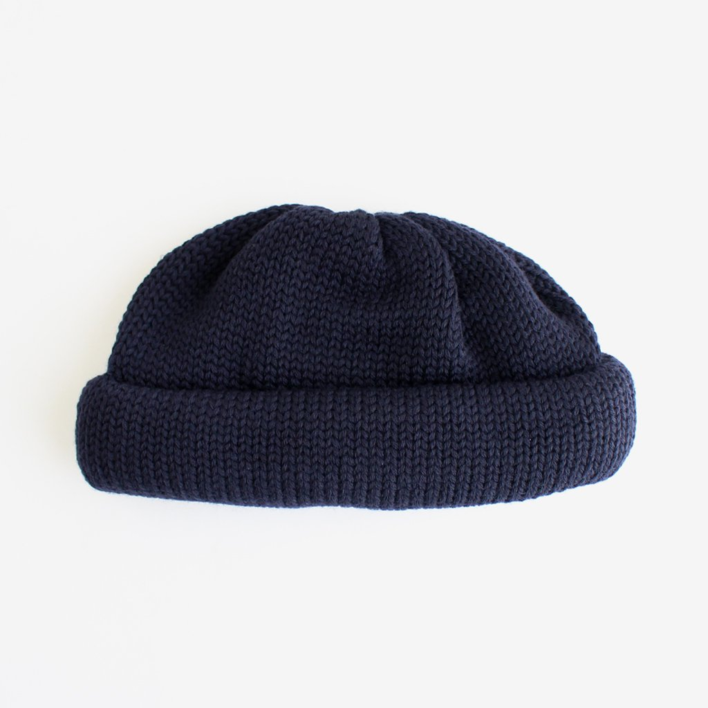 ROLL KNIT #NAVY [NO.17619]