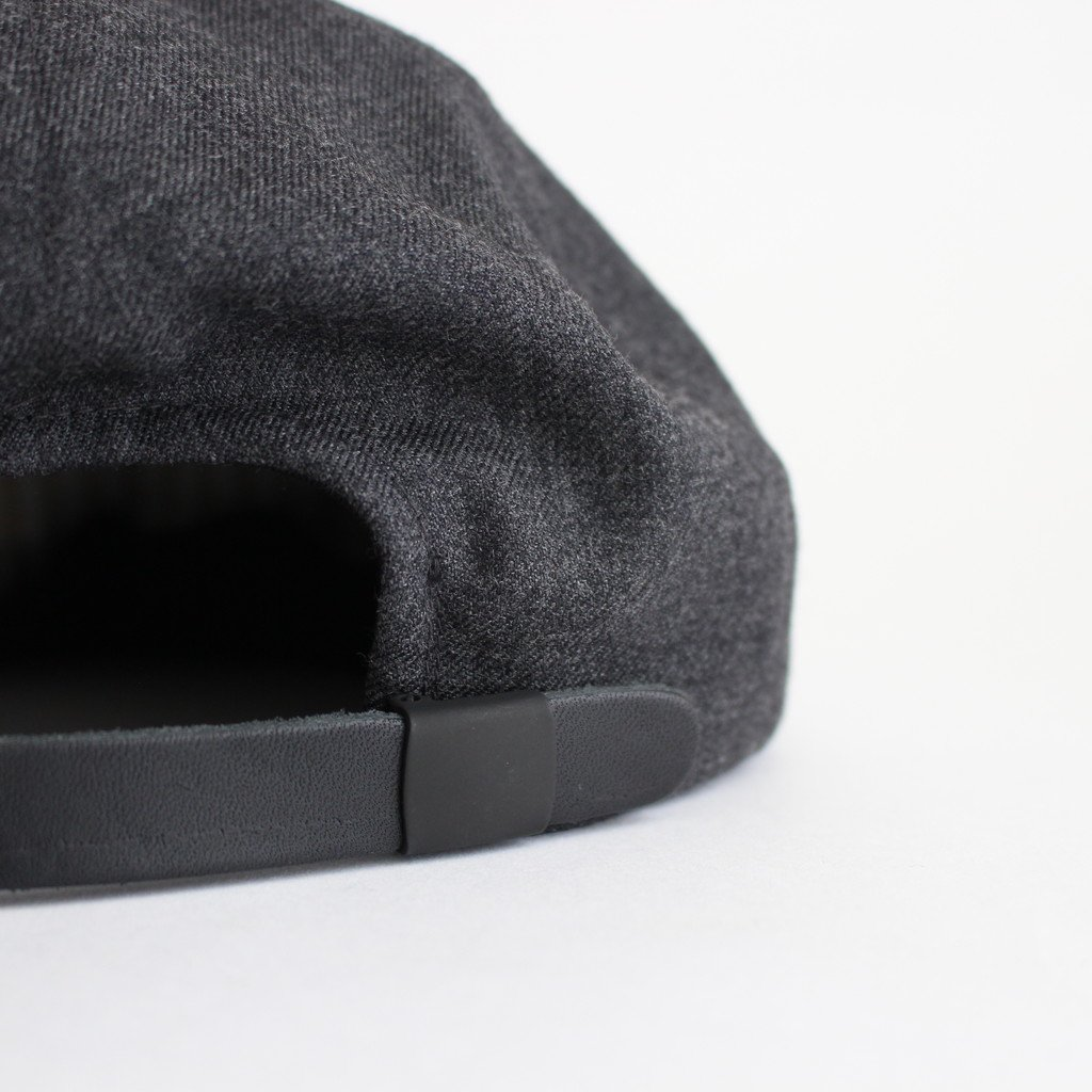 SUIT FABRIC SHORT BRIM CAP #GRAY [NO.17640]