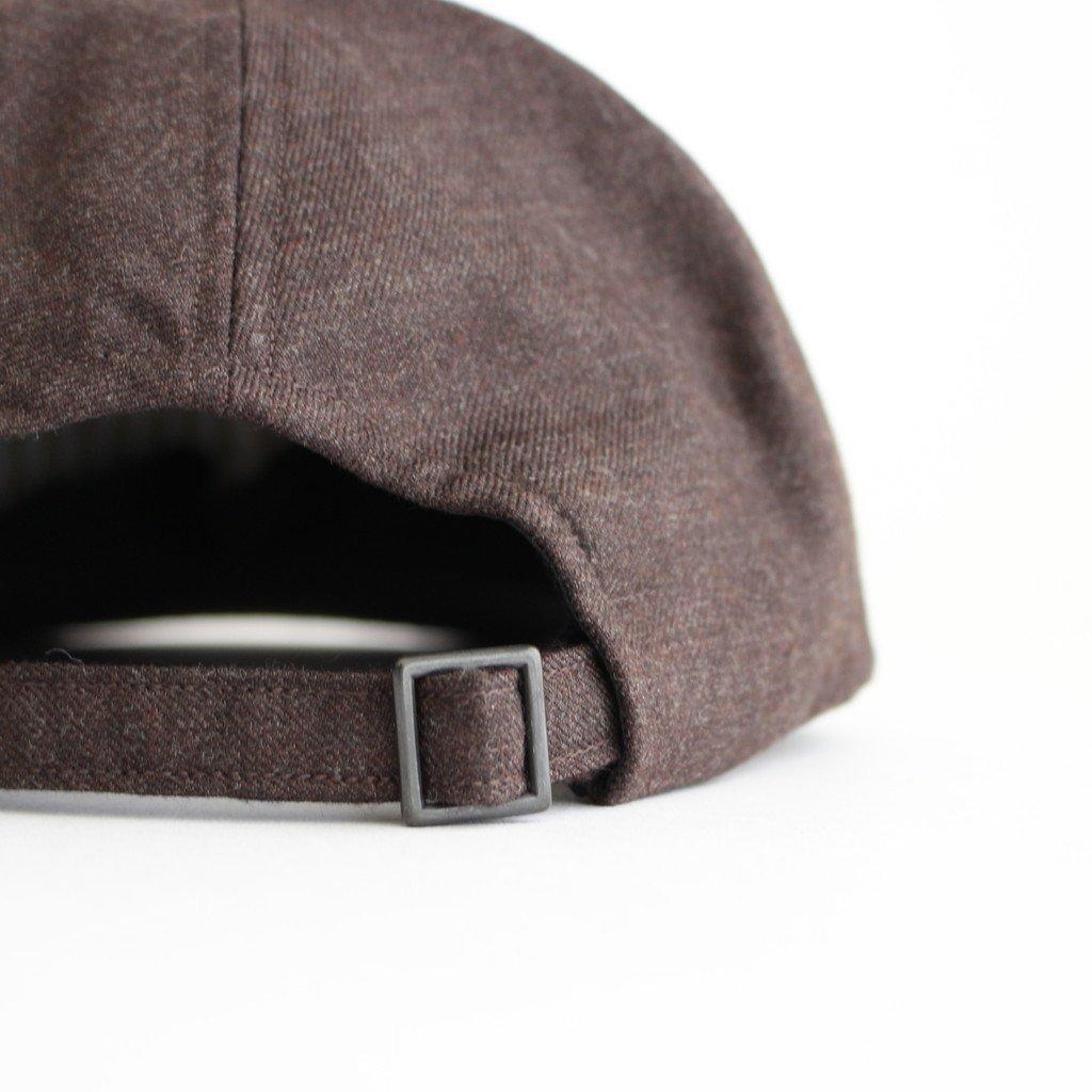 SUIT FABRIC CAP #KHAKI BROWN [NO.17642]